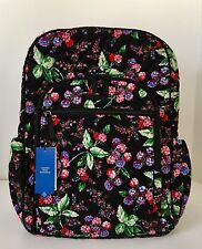 NWT Vera Bradley Winter Berry Campus Tech  Backpack Laptop Travel School PRETTY!
