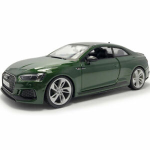 1/24 Audi RS 5 Coupe 2018 Model Car Metal Diecast Vehicle Collection Gift Green