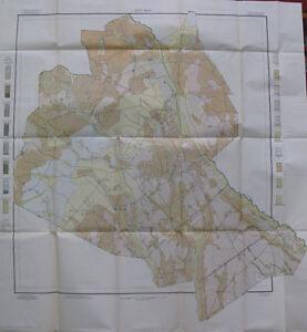 Soil Survey Map Lee County South Carolina Bishopville Lynchburg Smithville 1907