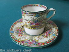 Wedgwood ST. AUSTELL Bond coffee Cup & Saucer W1989[*109]