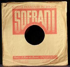 Pochette Sofradi sleeve 10'' EX