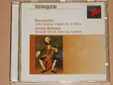 Boccherini / Anner Bylsma -Cello Sonatas Fugues For 2 Cellos- CD Japan Pressung