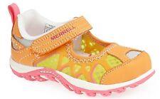 Merrell 5T Girls Sandal Water Shoe Aquasquirt Blazing Orange Mesh MSRP $39.95