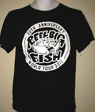 REEL BIG FISH 20TH ANNIVERSARY TOUR 2011 SMALL T- SHIRT ROCK SKA OUT OF PRINT