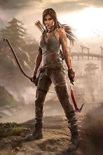 Tomb Raider Lara Croft Game Art Silk Poster 24x36inch Tourniquet Render 04