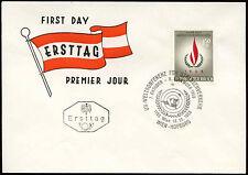 Austria 1968 Human Rights Year FDC #C23690