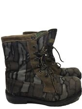 MEN's Cabelas Gore-Tex Thinsulate Insulated Camo Hunting Hiking Boots Mens