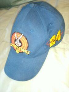 Jeff Gordon 24 Looney Tunes Blue Baseball Cap Nascar competitors view