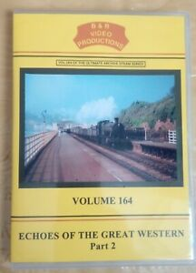 B & R dvd 164 Echoes of the Great Western Part 2 Railways video