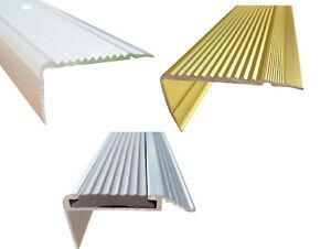 Stufenkantenprofil Treppenschiene Trittschiene Treppenwinkel Stufenleiste [ 12 ]