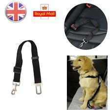 UK Adjustable Pet Dog Harnesses Seat Belt Lead Restraint Strap Car Travel Safety