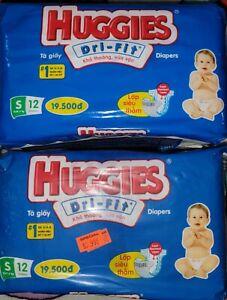 Vintage Huggies Diapers 2 packages