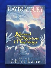 AHMED AND THE OBLIVION MACHINES- 1ST. ED. REVIEW COPY SIGNED BY RAY BRADBURY