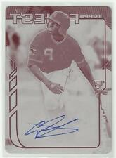 Gregory Polanco 2014 TOPPS FINEST MAGENTA ROOKIE AUTO CARD 1/1 SIGNED Pirates RC
