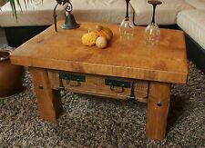 Couchtisch, Holztisch, Rustikal Unikat, Massivholz, Vintage, Tisch