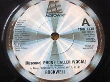 """ROCKWELL - (OSCENO) telefono del chiamante 7"""" in vinile"""