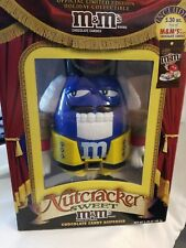 Limited Edition Holiday Collectible Nutcracker Sweet M&M's Candy Dispenser Blue