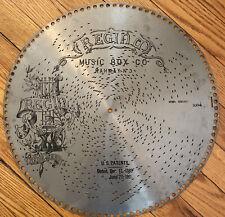 15 1/2� Regina Music Box Disc Record, Nun Danket Alle Gott Hymn, #1034