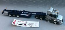 Tekno Scania T164 6x2 King of the Road IV Pa Sma Hjul Norway & Trailer 1:50