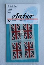 Archer 1/35 British Flag United Kingdom Union Jack (2 complete flags) AR35015