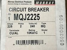 Siemens Murray MQJ2225 MQJ 225A 225 Amp Molded Case Circuit Breaker NEW NOS