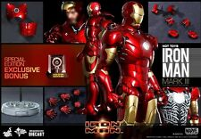 Hot Toys 1/6 MARVEL IRON MAN MMS256D07 Diecast MK3 Mark III Special Edition UK
