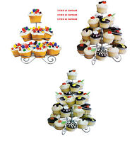 3/4/5 TIER 13/23/41 CUPCAKE BIRTHDAY PARTY STAND CAKE HOLDER TABLE DECORATION
