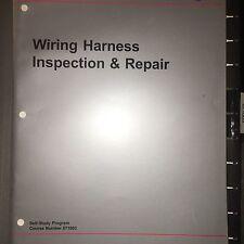 VW Manual 871003 Volkswagen Wiring Harness Service & Repair Training Manual Exam