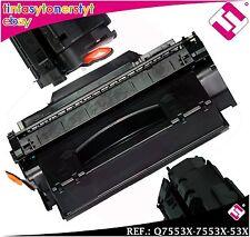 TONER NERO Q7553X 7553X 53X XL COMPATIBILE PER STAMPANTI ICT HP NO ORIGINAL