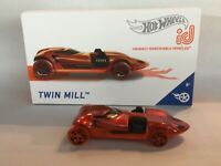 Hot Wheels ID Car Twin Mill ID Car Series 1  Limited Production