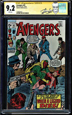 AVENGERS #81 CGC 9.2 WHITE PAGES SS STAN LEE SIGNED CGC #1508458022