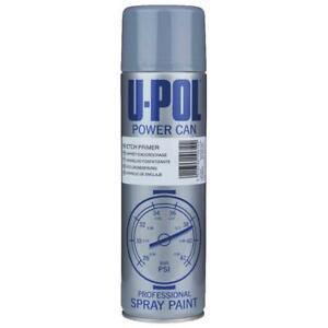 1x U-Pol Etch Primer Grey Spray Aerosol Power Can Galvanised Alluminium 500ml