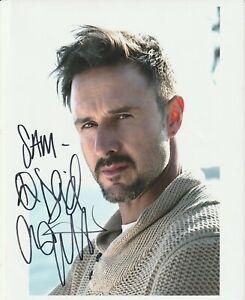 David ARQUETTE (Dewey Riley) in Scream signed 8x10 pic -