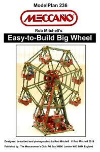 Meccano Model Plan - Easy-to-Build Big Wheel
