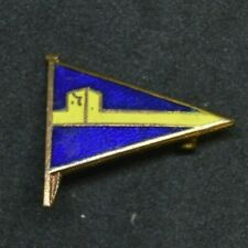 Vintage Portchester Sailing Club burgee flag enamel lapel pin badge Hampshire