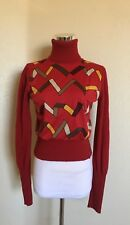 MISS SIXTY CROPPED TURTLENECK SWEATER MADE IN ITALY SIZE MEDIUM