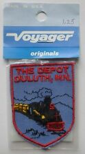 Vintage Voyager THE DEPOT DULUTH, MN Patch Originals In Package
