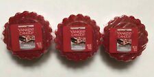 Yankee Candle FROSTY GINGERBREAD TARTS WAX MELTS X 3 HTF HOLIDAY SCENT