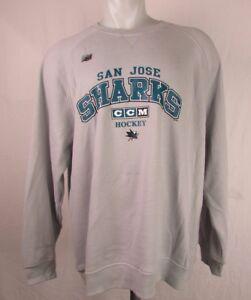 San Jose Sharks CCM Hockey Men's Graphic Pullover Sweatshirt