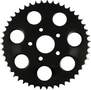 Drag Specialties Black Flat 46 Tooth Rear Sprocket for 86-92 Harley Sportster