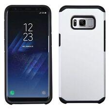 Étuis, housses et coques argentés Samsung Galaxy S8 en silicone, caoutchouc, gel pour téléphone mobile et assistant personnel (PDA)