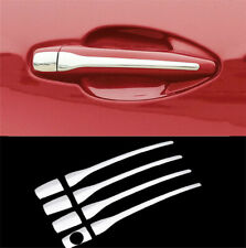 For Peugeot 2008 3008 207 308 407 Stainless Steel Door Handle Cover Overlay