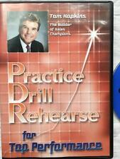 TOM HOPKINS - PDR Practice Drill Rehearse for Top Performance- Audio CD Sales