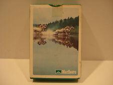 Marlboro Cigarettes White Horse Playing Cards