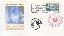 1988 First Ariane 4 Kourou Triple Playload Meteosat-P2 Panamsat 1 Amsat-III C
