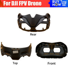 Top/Front/Rear Cover Replacement Repair parts For DJI FPV V2  Flying Glasses