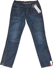 Esprit Damen-Jeans im Gerades Bein-Stil aus Denim mit Mittel