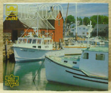 GUILD -  1,500 PC ZIG SAW PUZZLE - BOATS , ROCKPORT, MA    ZGOL-4667