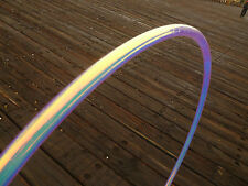 """Sunrise Color Shift 5/8"""" Polypro Dance Exercise Hula Hoop COLLAPSIBLE button"""