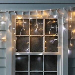 Christmas Decor Led Snowing Fall Icicle Bright Party Wedding Xmas Outdoor Lights
